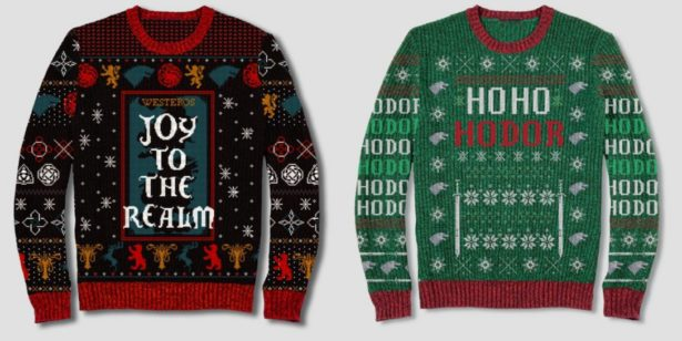 Ugly Christman Sweaters - Juego de Tronos