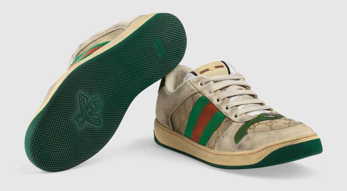 4478b5fe55e58 Así son las polémicas zapatillas  usadas  de Gucci