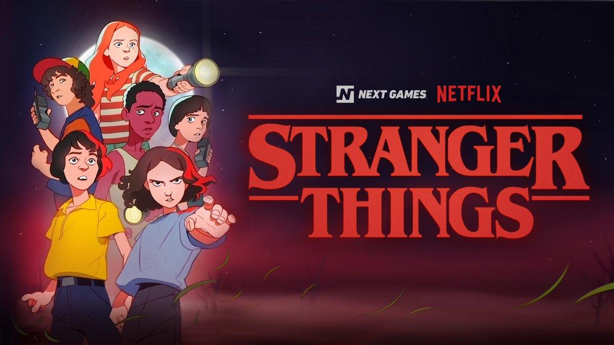 Asi Sera El Videojuego De Netflix Sobre Stranger Things Para Moviles