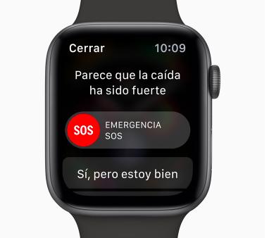 apple watch series llamada emergencia