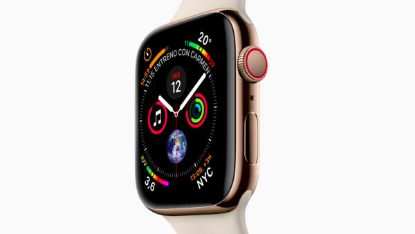 apple watch 4 nuevo diseño