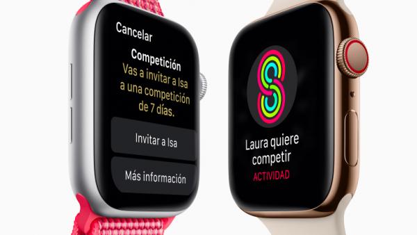 apple watch series 4 anillos de actividad