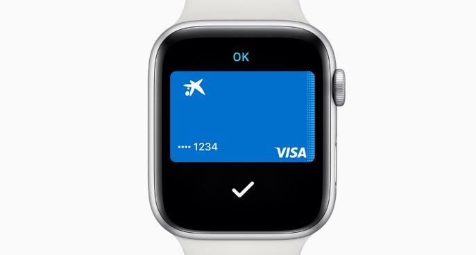 apple watch series 4 pagar