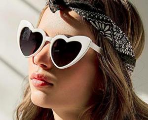 gafas sol corazón