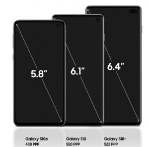 Samsung Galaxy S10 y S10+