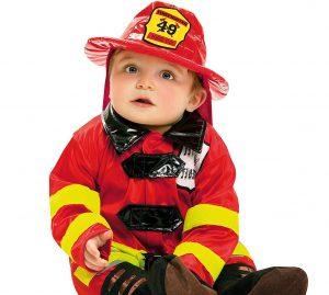 disfraz bombero bebe