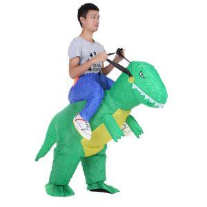 disfraz dinosaurio hinchable