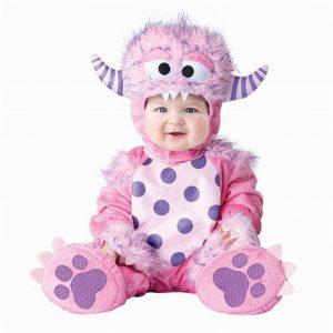 disfraz monstruo rosa amazon