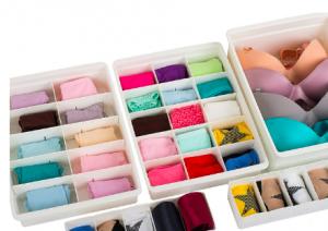 seis piezas organizador ropa interior