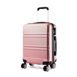 maleta cabina rosa