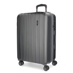maleta grande gris