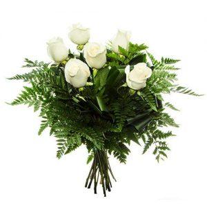 rosas blancas dia de la madre