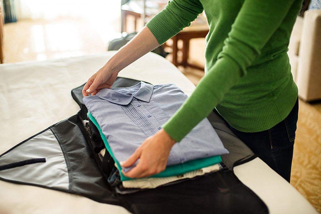 bolsa maleta para camisas